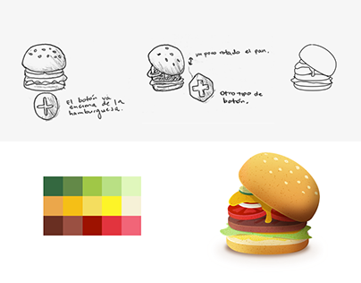 Burger Customization