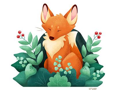 Fox Forest — Illustration