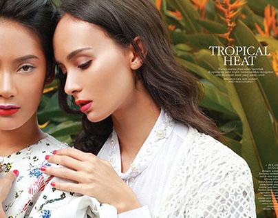 Tropical Heat on DEWI Magazine May 2017