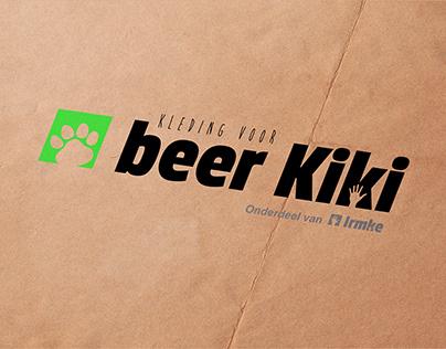 Logo presentation: Kleding voor beer Kiki