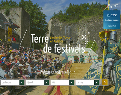 The Office de Tourisme Charleville/Sedan / Webdesign