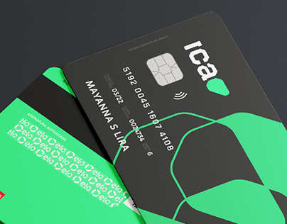 Identidade Visual - Ica Bank (Banco Digital)