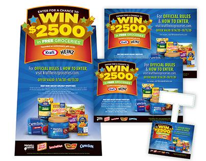 Kraft Heinz : Back to School In-Store Displays