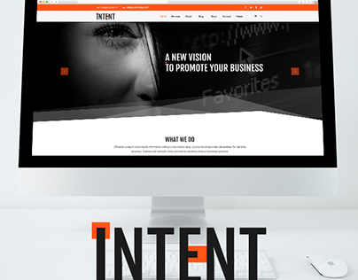 INTENT multipropose website template