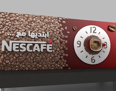 """Nescafe"" Header"