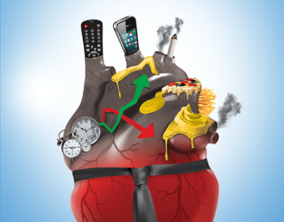 Unhealthy Heart Poster