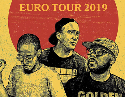 Awon, Phoniks & Anti Lilly Tourposter 2019