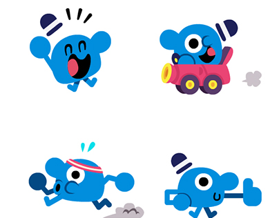 Mr.Joe Animated Stickers