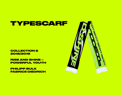 TYPESCARF -COLLECTION 2