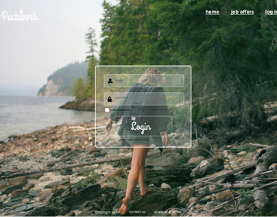 Packwork - Concept and Web Design