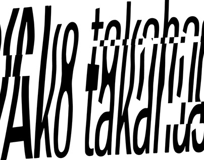 Experiment with Typography