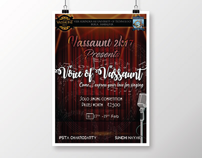 Singing Competition Poster