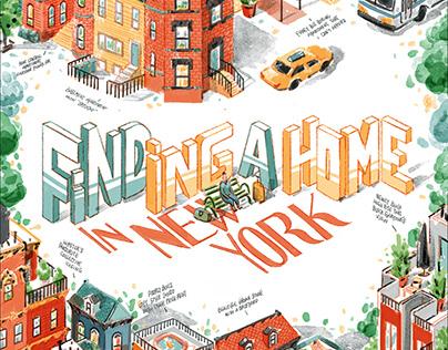 New York Diary Column