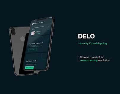 DELO- Inter-city Crowdshipping