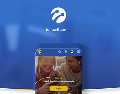 Turkcell.com.tr website UX-UI design project