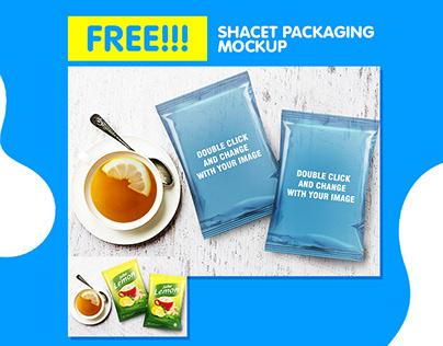 Free Mockup Download - Sachet Packaging Mockup