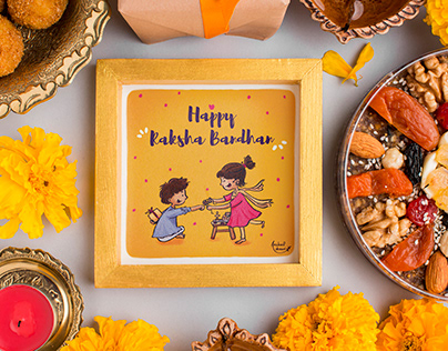 Raksha Bandhan Illustration