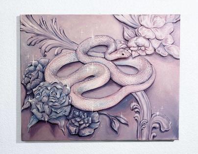 Divine Serpent (Painting)