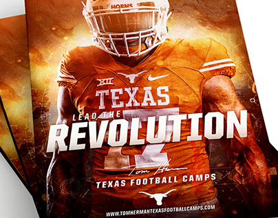 2017 Tom Herman Texas Football Camps Brochure