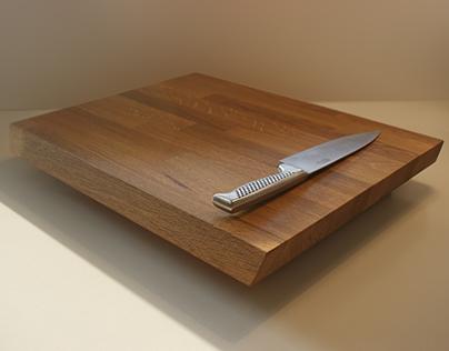 Solid Oak cutting board