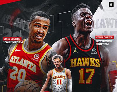 Atlanta Hawks 2020-21 Jersey Showcase