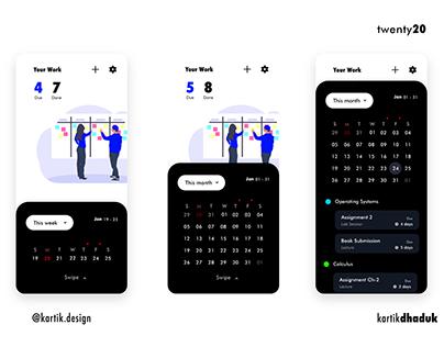 Task Management App UI