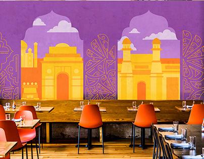 Bayleaf Indian Restaurant Branding