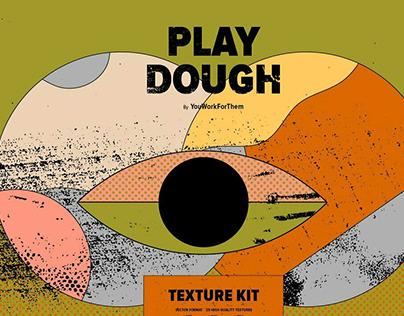 Play Dough Texture KitbyYouWorkForThem