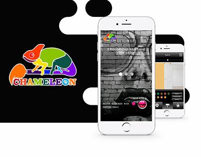 Chameleon Paint App