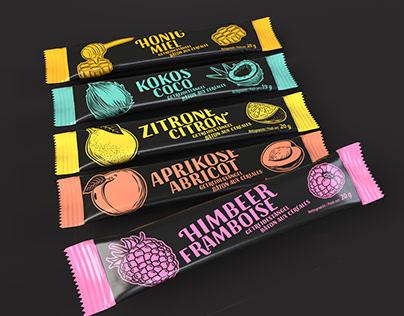 Packaging Design Muesli Bar