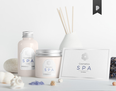 SPA Cosmetics Mock-Up