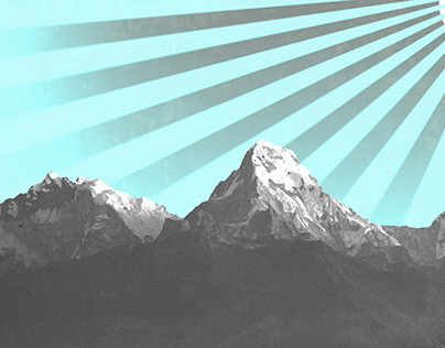 Graphic Art Mountains -WIP