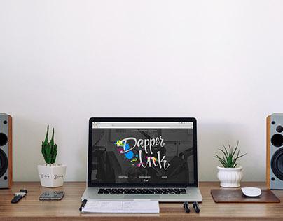 Site Design   Dapper Ink Site Redesign