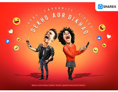 Shareit - Social Media - Print Campaign Ideas