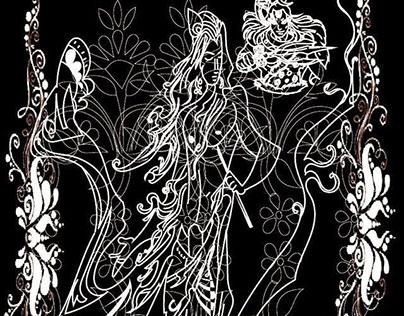 Mythological concept illustrations