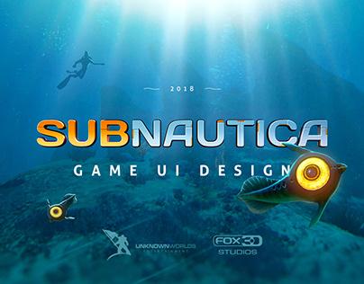 Subnautica – game ui design