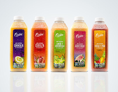 Caribe Juices Relaunch