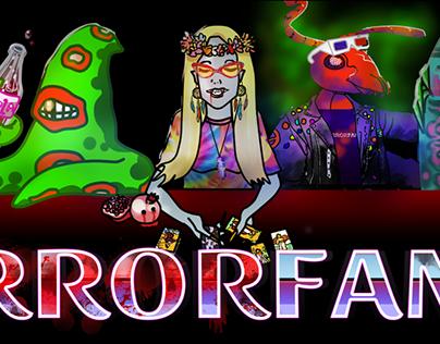 Illustrations for HorrorFam.com