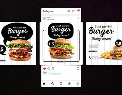 Burger -Instagram Puzzle-
