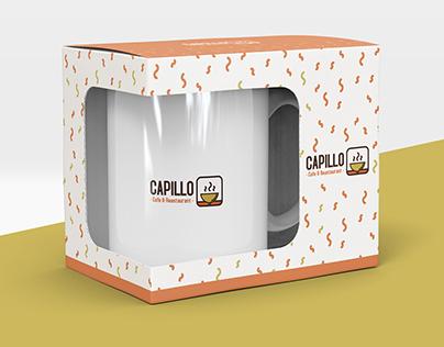 Capillo Cafe&Restaurant Logo and Identity