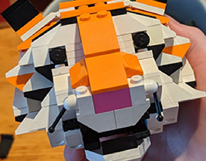 Lego Tiger Head