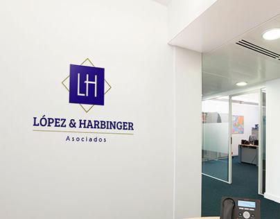 "Logo ""López & Harbinger"""
