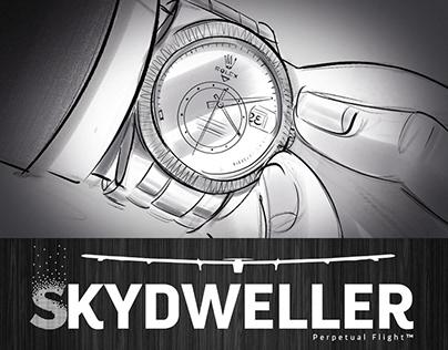Story-Board ROLEX SKYDWELLER