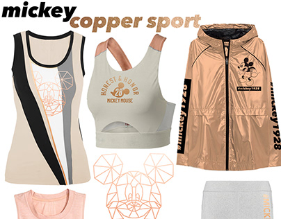 Disney Sports wear moodboards