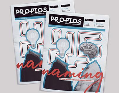 PROPIOS - SUPLEMENTO DE ARTE Y BRANDING
