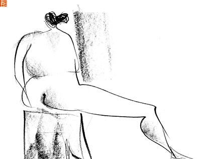 Life drawing XLII_Bri