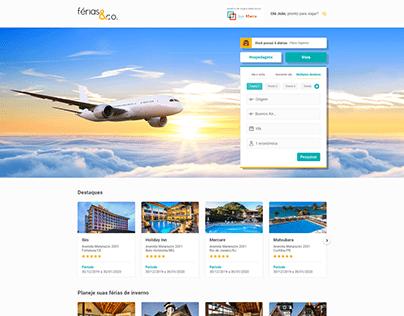 Passagens aéreas - Desktop - Férias & Co.