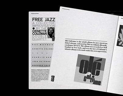 Free jazz magazine