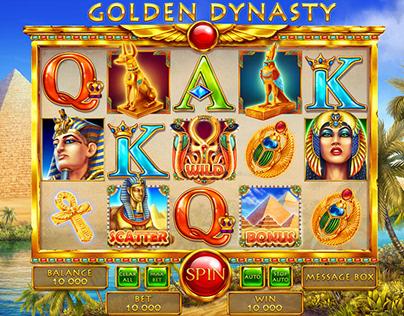 """Online slot game for SALE - """"Golden Dynasty"""""""