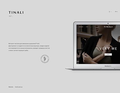 Tinali – Website